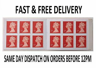 12 Brand New First 1St Class Postage Stamps– Savings,self-Adhesive- Cheapest Buy