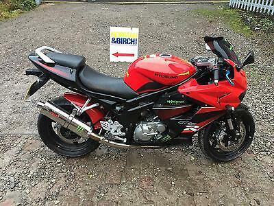 Hyosung GT 650 R, 2012, Red, Scoprion can, finance, Delivery
