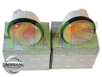 Clear Front Indicator Set to suit Nissan Skyline R33 GTR