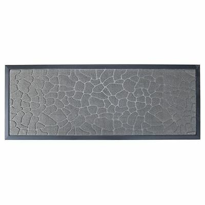 Benzer - Rubber Backed Door Mat 45x120cm Palmdale Slate