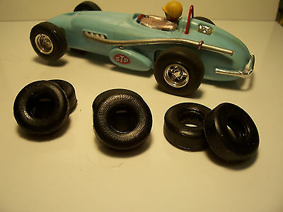 6 rear tires URETHANE Offenhauser SCALEXTRIC UK