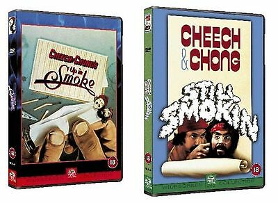 CHEECH AND CHONG UP IN SMOKE + STILL SMOKIN' dvds SEALED/NEW dvd smoking