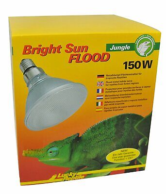 Lucky Reptile Bright Sun Flood Jungle 150 W für E27 Fassungen UVA UVB Strahlung