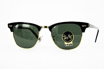 Ray Ban Sonnenbrille/Sunglasses Clubmaster RB3016 W0365 51[]21 3N inkl. Etui  #*