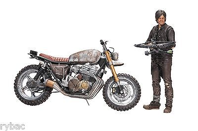 WALKING DEAD TV DARYL DIXON WITH NEW BIKE ACTION FIGURE BOX SET - McFARLANE TOYS