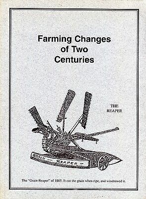 Farming Changes of Two Centuries by James M. Morrissey
