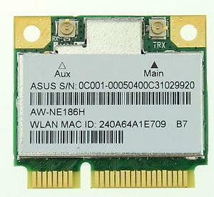 Azurewave S405CA-RH51 AR5B125 AW-NE186H K550C 802.11bgn Wireless PCI-E Card