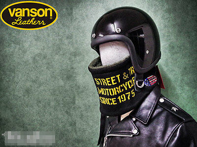 New Winter Riding Neck Scarf Collar thick Street Vintage Motorcycle Bike Black