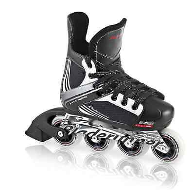 Bladerunner Dynamo Hockey Adjustable Kid's Inline Skates Black/Red (UK 1 - 4)