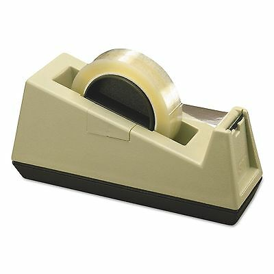 "Scotch C25 Heavy-Duty Weighted Desktop Tape Dispenser  3"" Core  Plastic"