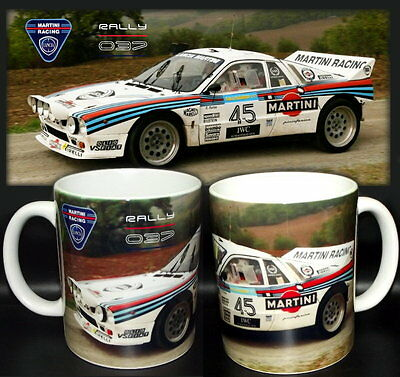tazza mug LANCIA 037 martini racing HF rally champion scodella ceramica