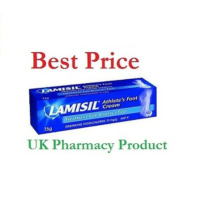 Lamisil At 1% Cream Relief From Athlete's Foot And Ringworm - 7.5g