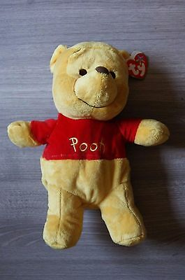 Winnie The Pooh Ty Soft 11 Inch Plush Brand New With Tag! Free Uk Delivery!