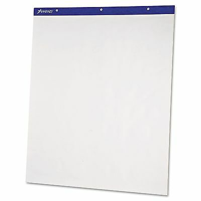 Ampad 24-038 Flip Charts  Unruled  20 x 25-1/2  White  50 Sheets  2/Pack