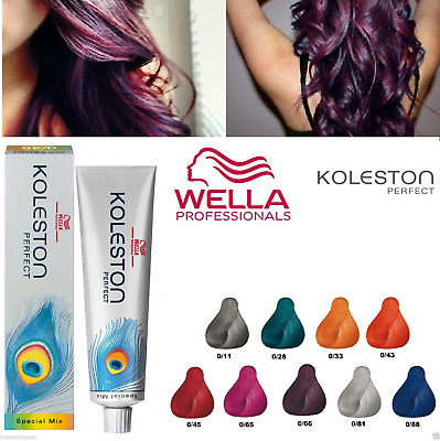 Wella Koleston Perfect Permanent Hair Color/Dye - Special Mix Range