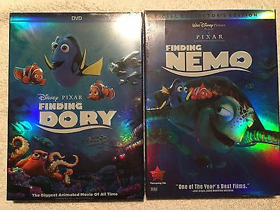 Finding Dory/Finding Nemo DVD's Brand New Factory Sealed