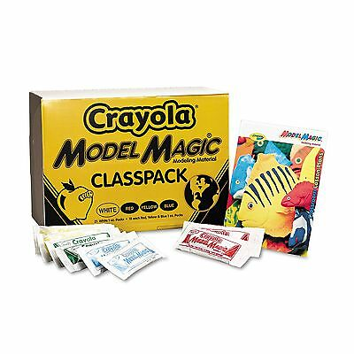 Crayola 23-6002 Model Magic Modeling Compound  1 oz each packet Assorted  6