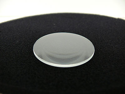 Uhrenglas Lens glas Lupen 1.5 mm x 2.7 mm Mineral Double domed glass 27 - 40 mm