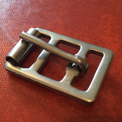 Stainless Steel Girth Buckle - 1""
