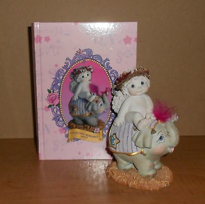 """Dreamsicles """"Collecting Memories 2002""""  """"Cherub on Elephant"""" and Journal"""