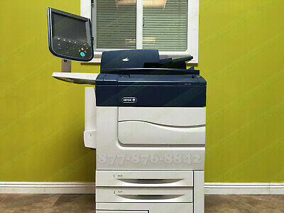Xerox Color C60 Production Laser Printer Copier Scanner Fiery 2400dpi 65PPM 500K