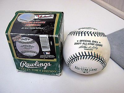 New in Box Rawlings Major League Baseball 2001 Official All-Star Game in Seattle