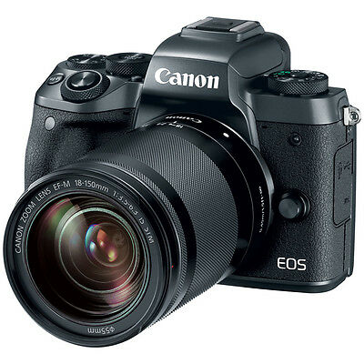 Canon EOS M5 Mirrorless Digital Camera with EF-M 18-150mm IS STM Lens Kit