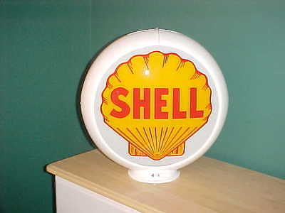 Shell Gas Pump Globe