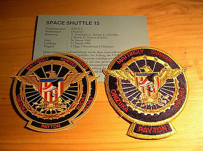 Missionsembleme Space Shuttle STS-51C  (STS-14)