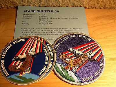 Missionsembleme Space Shuttle STS-28
