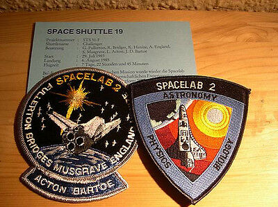 Missionsembleme Space Shuttle STS-51F  (STS-19)