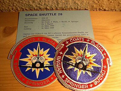 Missionsembleme Space Shuttle STS-29