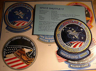 Missionsembleme Space Shuttle STS-51B (STS-17)