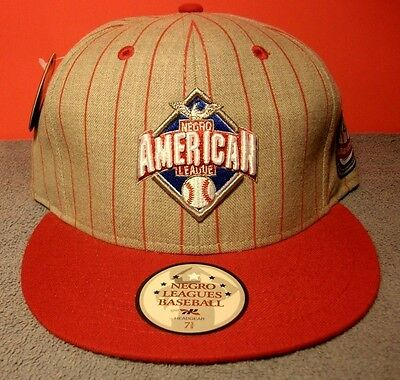 Negro American Leagues Baseball Cap Hat Cleveland Buckeyes Size 7 5/8 NEW w/Tags