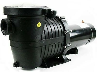 1.5 Hp Replacement Swimming Pool Water Pump with Strainer Basket Filter Unit