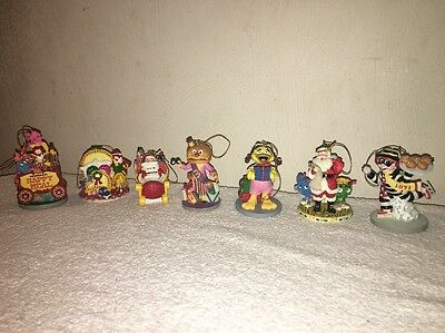McDonald's Mcmemories Christmas Ornament  Lot  1995-1996 (7)