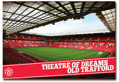 """Theatre Of Dreams Old Trafford Manchester United Fridge Magnet Size 3.5"""" x 2.5"""""""