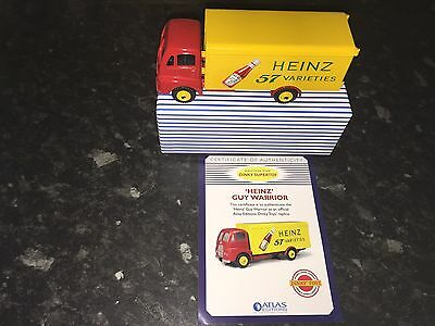 Atlas Edition - Dinky Supertoys 'Heinz' Guy Warrior 57 Mint & Certificate 920