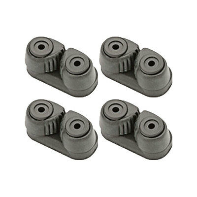 Cam Cleat Composite SMALL 27mm Holes - Black - 4 PER PACK