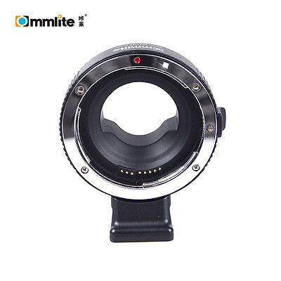 Commlite Electronic Aperture Control Adapter for Canon EOS EF Lens to Micro 4/3