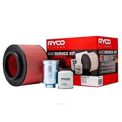 RYCO Oil Air Fuel Filter Service Kits Ford Ranger PJ PK