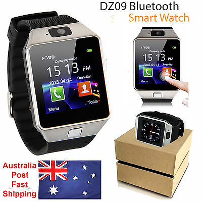 DZ09 Bluetooth Smart Watch Wrist SIM Phone Camera For Android iPhone Samsung HTC