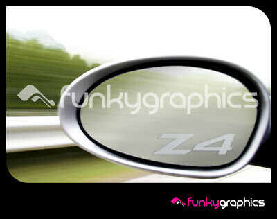 MONDEO ST NEW LOGO SMALL MIRROR DECALS STICKERS GRAPHICS DECALS x3 SILVER ETCH