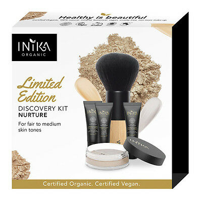 New Inika Limited Edition Discovery Kit Nurture - Christmas Gift Set