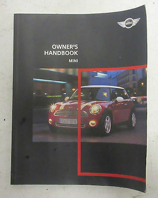 Genuine Used MINI Owners Handbook for R56 R55