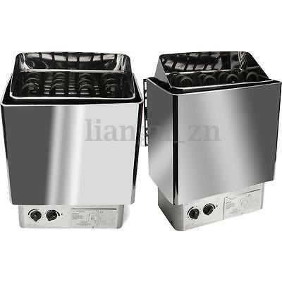 220V-380V 6KW Sauna Heater Stove Wet & Dry Stainless Steel External Control
