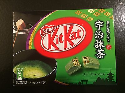 Mini KitKat Uji Macha (thé vert) Green Tea - Made in Japan