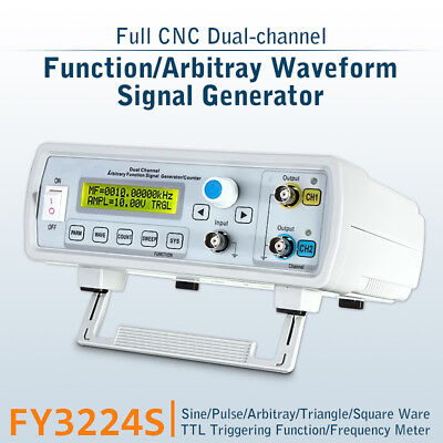 FY3224S 24MHz USB Dual-channel Arbitrary Waveform Function DDS Signal Generator