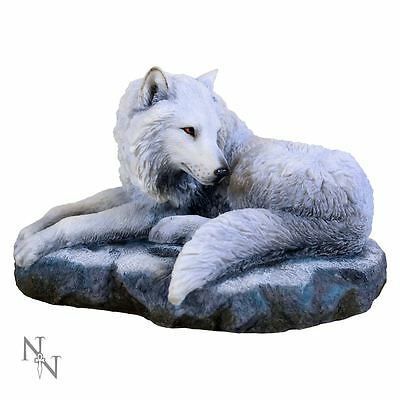 Nemesis Now - Guardian of the North Wolf Figurine by Lisa Parker - Statue