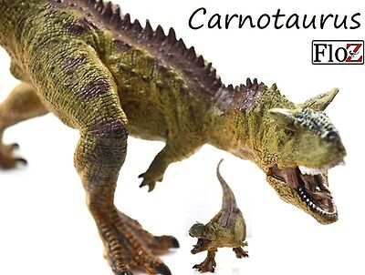 Dinosaurs FloZ roaring Carnotaurus Jurassic Figure model toy collectible